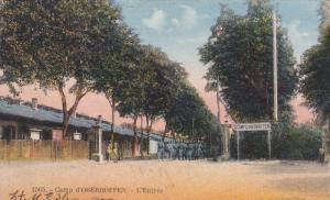 Camp d'OBERHOFFEN.-L'Entree , France , 00-10s