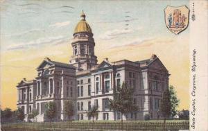 Wyoming Cheyenne State Capitol 1913