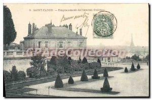 Postcard Old Saint Cloud Location Old Chateau