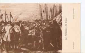 Postal 035796 : La redencion de Breda. Velazquez. Museo del Prado
