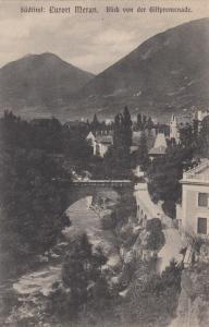 SUDTIROL, Austria, 1900-10s; Curort Meran. Blick von der Gilfpromenade