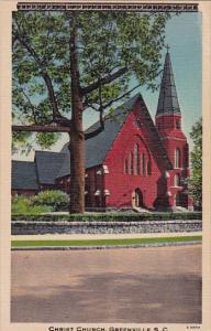 South Carolina Greenvile Christ Church