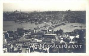New Bridge Istanbul, Turkey Postcard Post Card, Kart Postal, Carte Postale,  ...