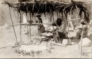 Haiti Vendors Real Photo Postcard E59