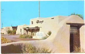 Administration Building, White Sands National Monument, New Mexico, NM, Chrome