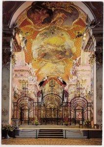 Klosterkirche Einsiedeln, Unterer Chor, Switzerland, used Postcard