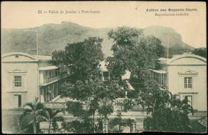 mauritius, PORT LOUIS, Palace of Justice (1920s)