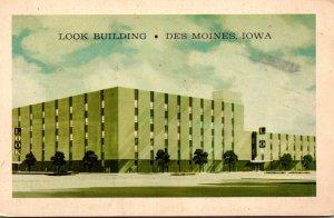 Iowa Des Moines The Look Building 1968