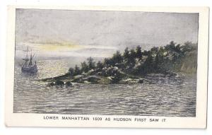 Hudson Fulton Celebration 1909 Lower Manhattan Churchman