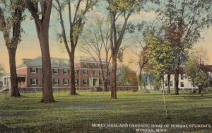 WINONA , Minnesota , 00-10s ; Morey Hall & Grounds, Home of Normal Students