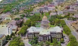 State Capitol Building Denver Colorado 1959