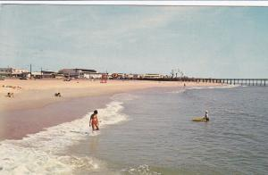 Beach , OCEAN CITY, Maryland, 1966