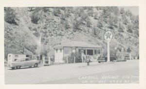 CARROLL SUMMIT Hi-Way 50 , Nevada, 1950s; TEXACO Gas Station