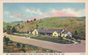 South Dakota Black Hills Administration Building Wind Cave National Park Curt...