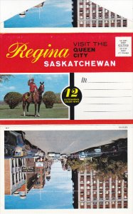 Folder Postcard : REGINA , Saskatchewan , Canada , 50-60s Version - 2