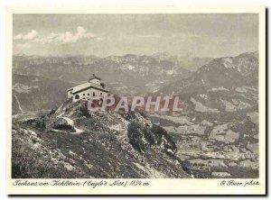 Postcard Modern Teehaus am Hehlstein Eagles Nest