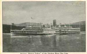 Hudson River Day Line - Steamer Robert Fulton
