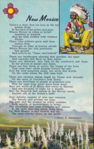 New Mexico Poem By Anna B Stevenson With American Indian