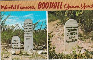 Arizona Tombstone Boothill Graveyard 1985