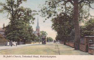 WOLVERHAMPTON , Staffordshire , England , 00-10s ; St Jude's Church , Tettenh...