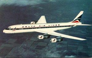 Airplanes Delta Air Lines Douglas DC-8 Fanjet