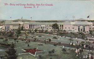New York Syracuse Dairy and Grange Building State Fair Grounds 1911