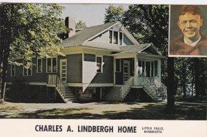 Minnesota Little Falls The Charles A Lindbergh Home sk7471