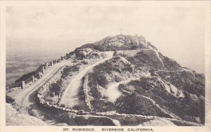 Mt Rubidoux Riverside California Albertype