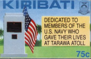 Battle of Tarawa Memorial to U.S. Marines