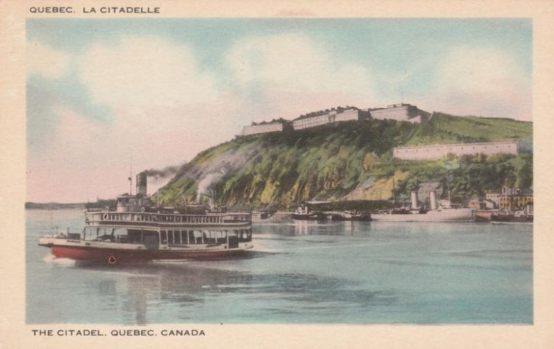 The Citadel - La Citadelle - Quebec QC, Quebec, Canada - WB