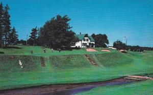 Picturesque 9th Green, Green Gables Golf Course, CAVENDISH, Prince Edward Isl...