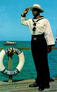 Barbados Bridgetown The Harbour Police