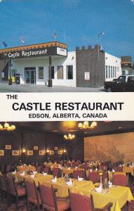 EDSON, Alberta , Canada , 50-60s ; Castle Restaurant