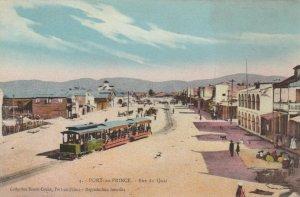 PORT-au-PRINCE , Haiti , 1900-10s ; Rue du Quai