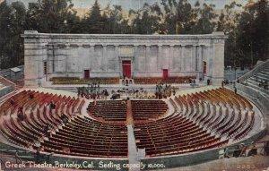 Greek Theater, Berkeley, California, Early Postcard, Used in 1921