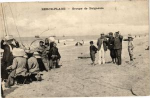 CPA BERCK - PLAGE  .- Groupe de baigneurs  (197598)