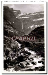 Gavarnie - the Path - Length Gave - leading to the circus - Old Postcard