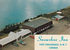 FORT PROVIDENCE , N.W.T. , Canada , 50-70s ; Snowshoe Inn