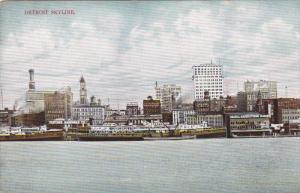DETROIT, Michigan, 1900-1910's; Detroit Skyline