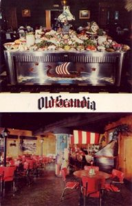 OLD SCANDIA Scandinavian Smorgasbord OPA-LOCKA, FL. Mr and Mrs Holger Johansen