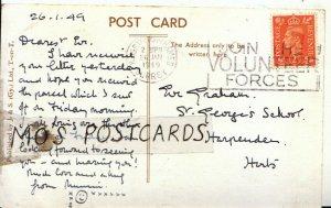 Genealogy Postcard - Graham - St George's School - Harpenden - Herts - Ref 9037A