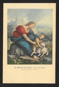 The Virgin and Child da Sesto Unused c1920s