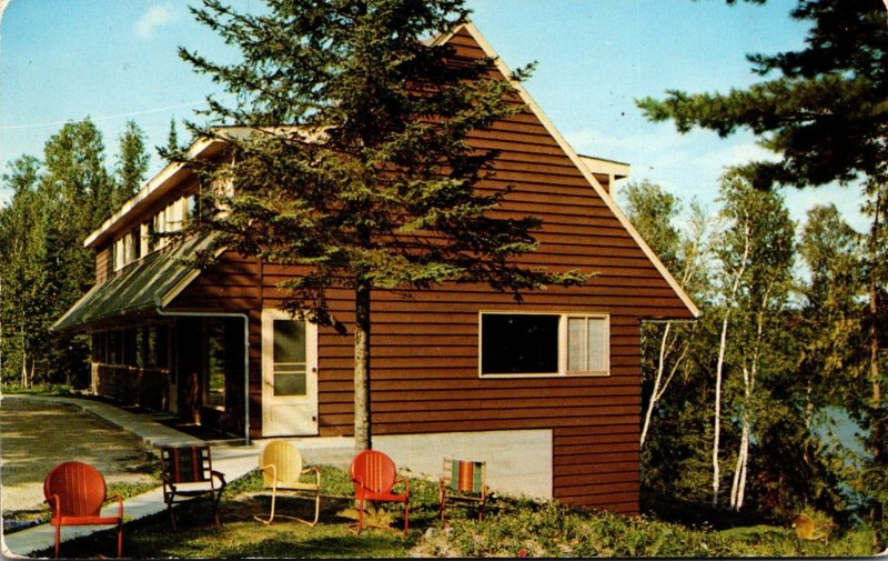 Minnesota Marcell Main Lodge De Haven's North Star Camp 1954