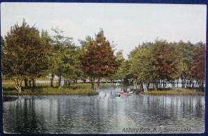 Sunset Lake Asbury Park NJ Prelinen PC