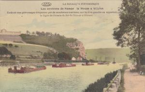 NAMUR, Belgium, 1900-1910's; La Meuse A Wepion