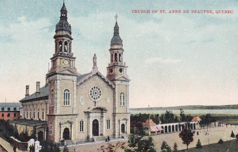 STE. ANNE DE BEAUPRE, Quebec, Canada, 1900-1910s; Church Of St. Anne De Beaupre
