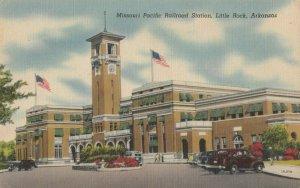 LITTLE ROCK , Arkansas, 1930-40s ; Missouri Pacific Railroad Station