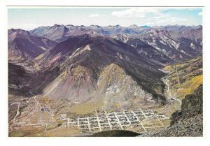 Silverton Colorado Aerial View Mining Town Petley Postcard