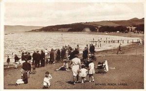 uk41588 bathing beach largs scotland uk