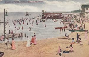 CHICAGO , Illinois , 1900-10s ; Wilson Avenue Bathing Beach